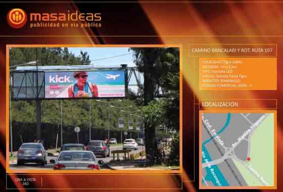 6000-A - Camino Bancalari y Ruta 197 (tránsito a provincia) | PREMIUM