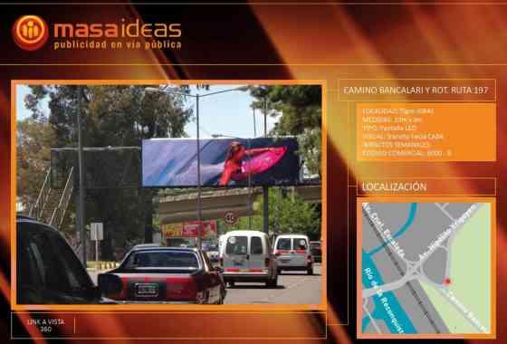 6000-B - Camino Bancalari y Ruta 197 (tránsito a CABA) | PREMIUM